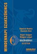 Angol-magyar, magyar-angol gazdasági szótár - Mindennapi szókincs