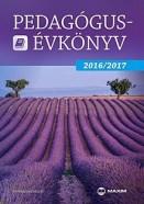 Pedagógusévkönyv 2016/2017