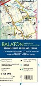 Balaton és környéke - Balaton and its surroundings (kétnyelvű)