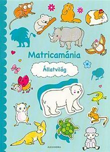 Állatvilág - Matricamánia
