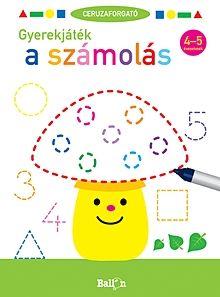 Gyerekjáték a számolás 4-5 éveseknek - Ceruzaforgató